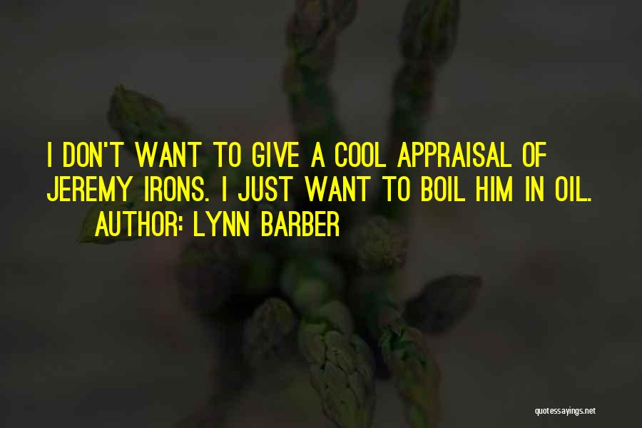 Lynn Barber Quotes 1569152