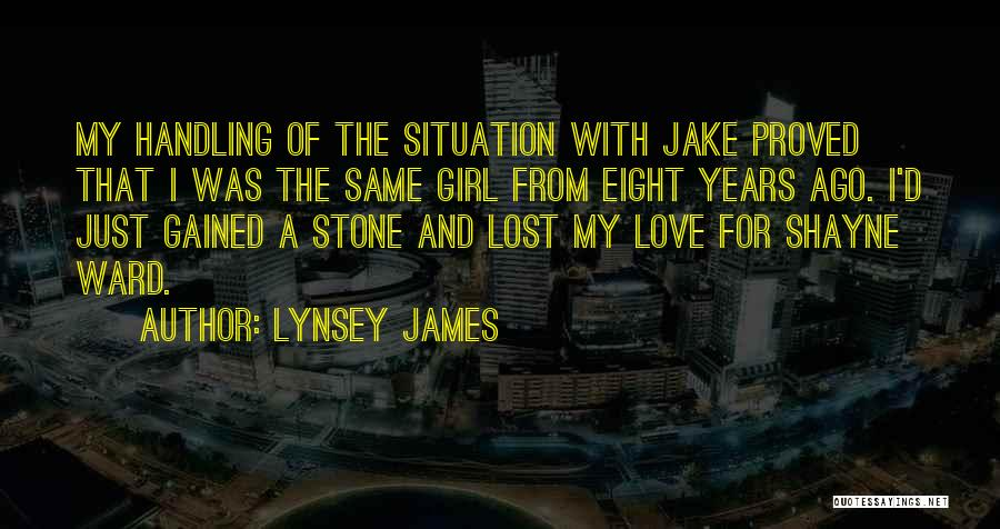 Lynsey James Quotes 302069