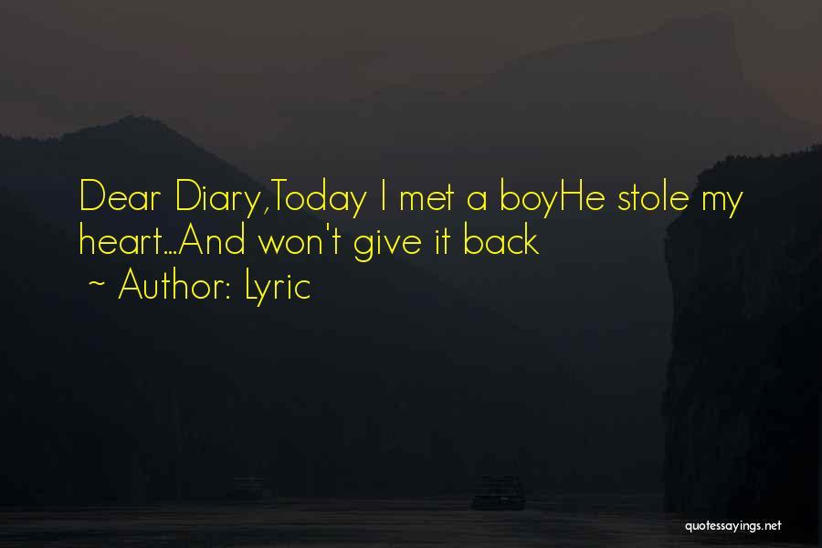 Lyric Quotes 1466580