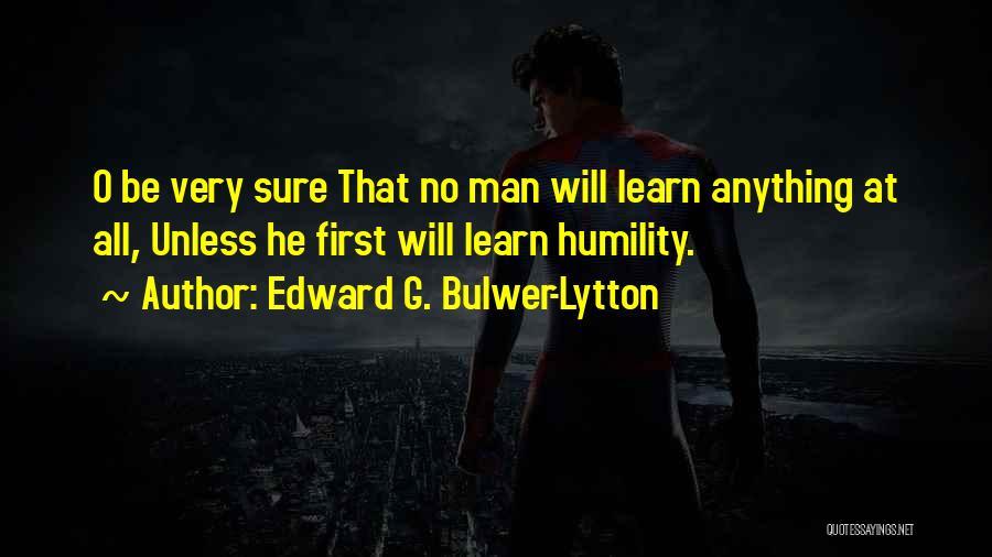 Lytton Quotes By Edward G. Bulwer-Lytton