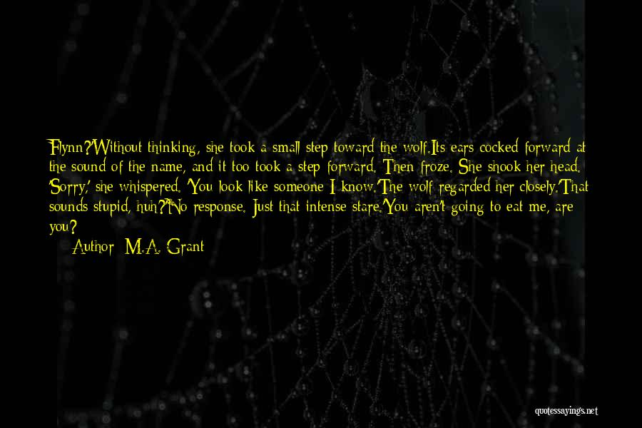 M.A. Grant Quotes 413013