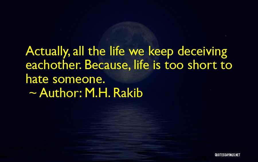 M.H. Rakib Quotes 1949752