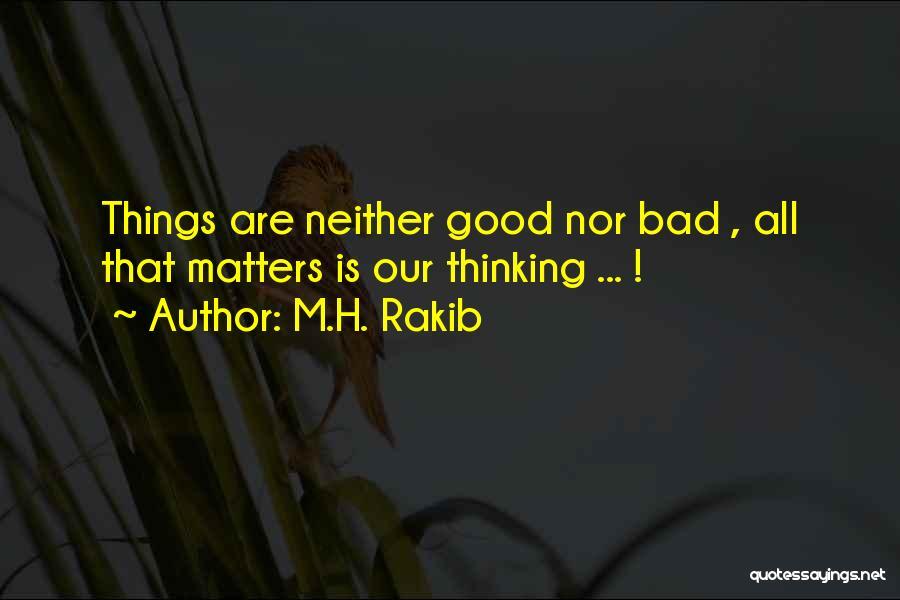 M.H. Rakib Quotes 195368