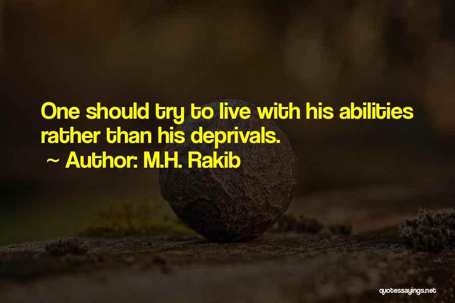 M.H. Rakib Quotes 235850