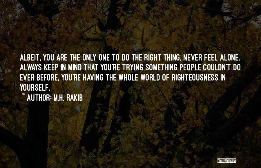 M.H. Rakib Quotes 444147