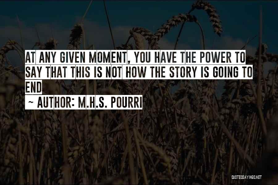 M.H.S. Pourri Quotes 1295099