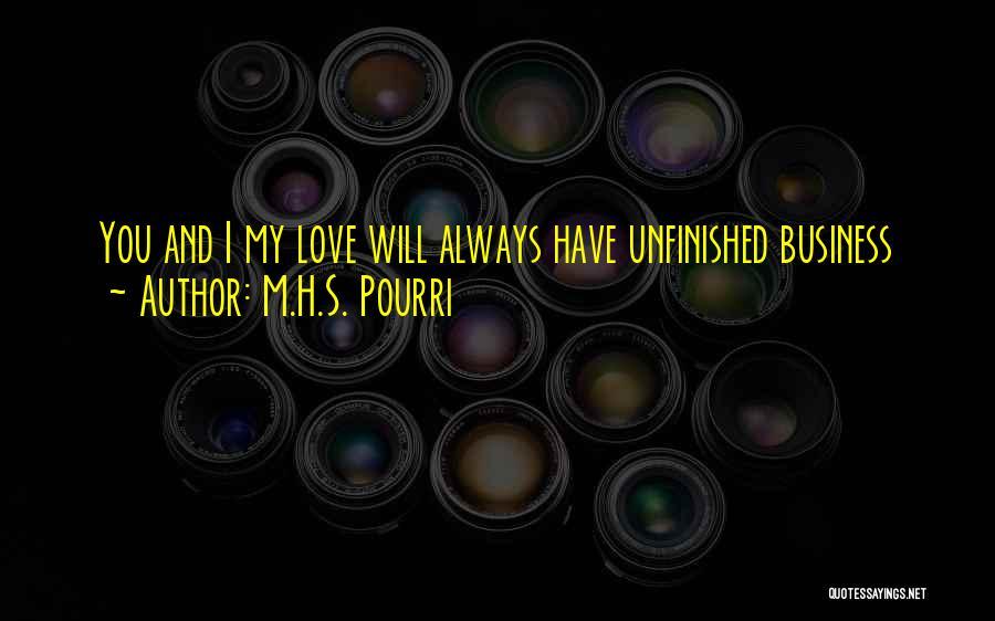 M.H.S. Pourri Quotes 1837614
