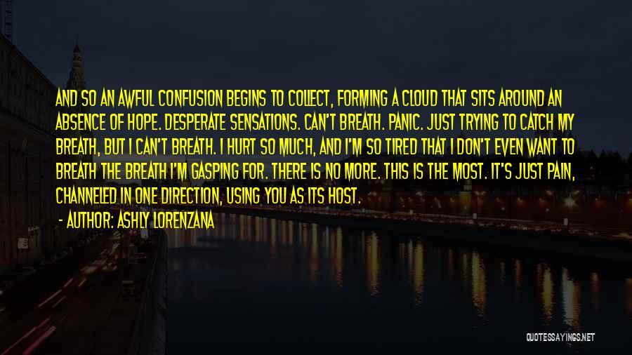 M Hurt Quotes By Ashly Lorenzana