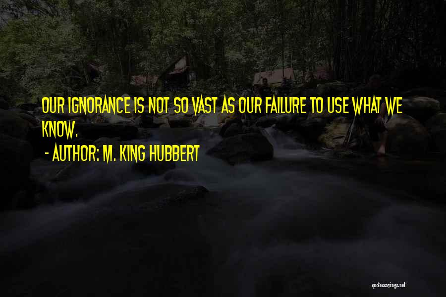 M. King Hubbert Quotes 1962739