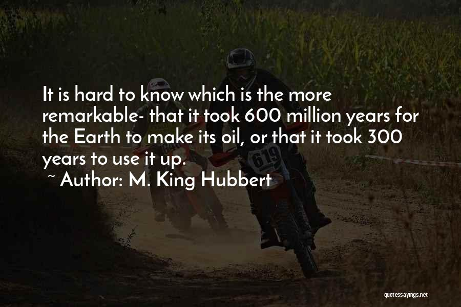 M. King Hubbert Quotes 2242678