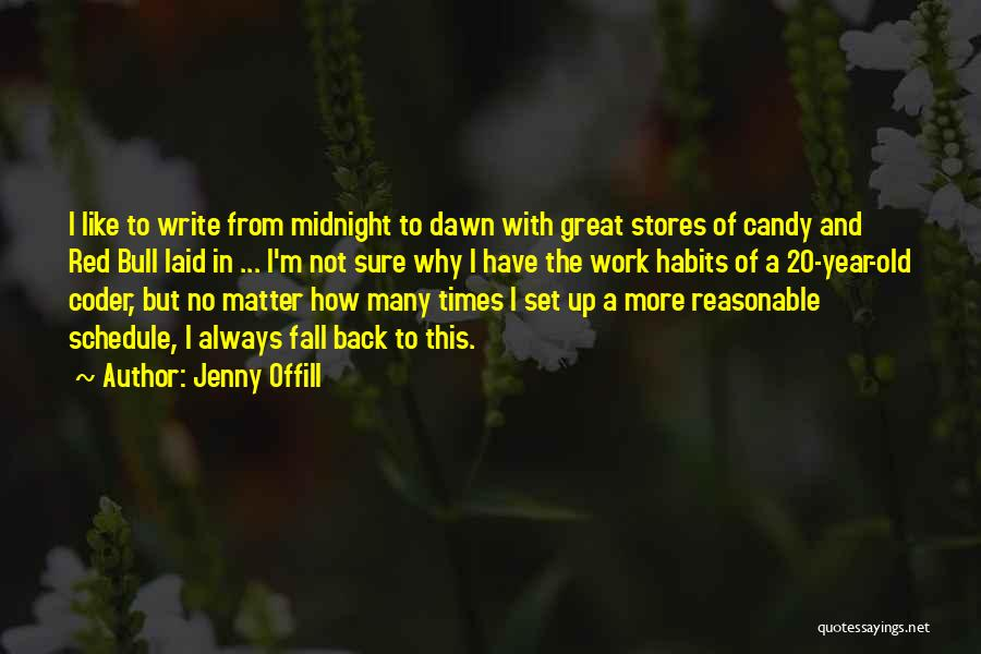 M&m Candy Quotes By Jenny Offill