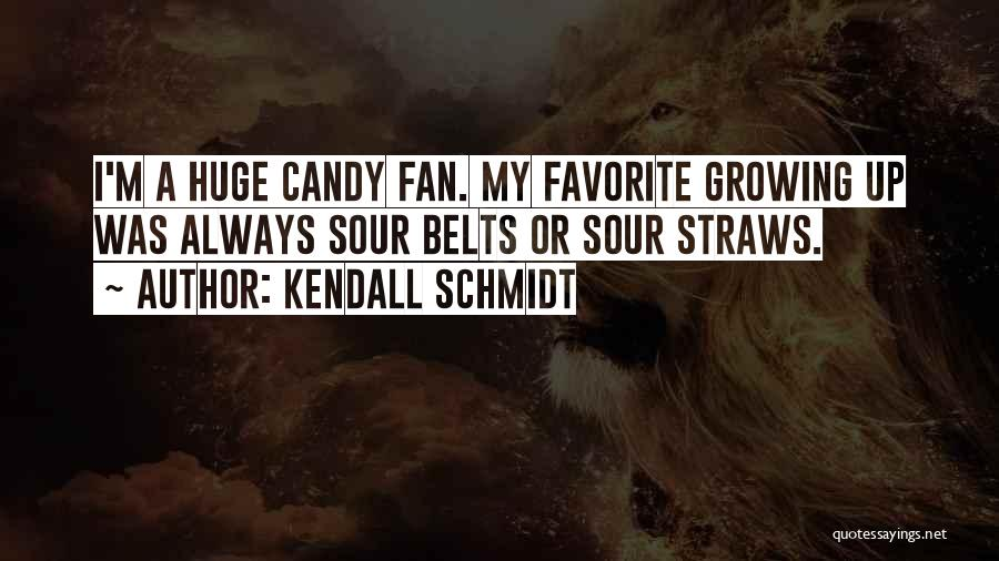 M&m Candy Quotes By Kendall Schmidt