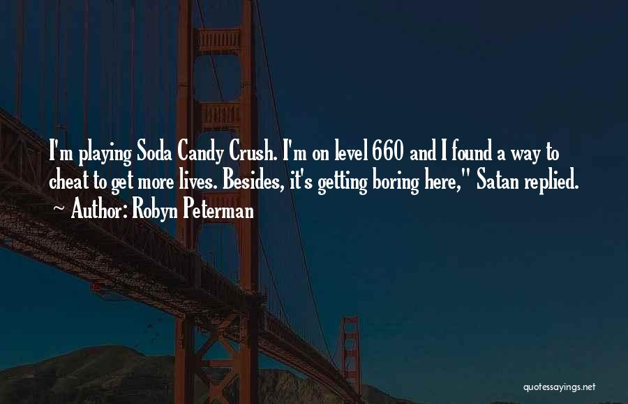 M&m Candy Quotes By Robyn Peterman