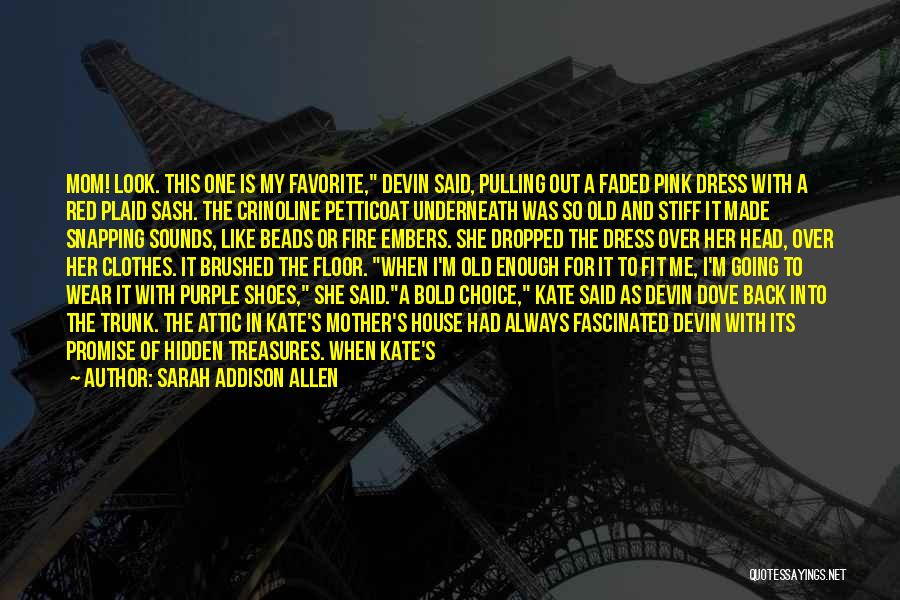 M&m Candy Quotes By Sarah Addison Allen