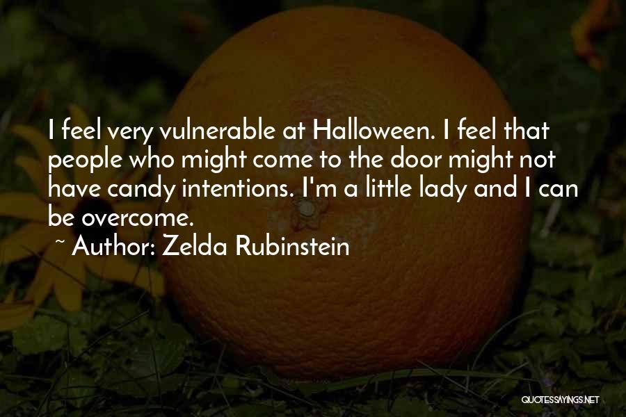 M&m Candy Quotes By Zelda Rubinstein