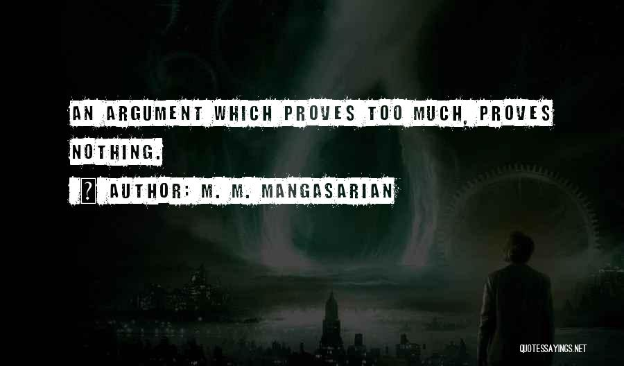 M. M. Mangasarian Quotes 2237206