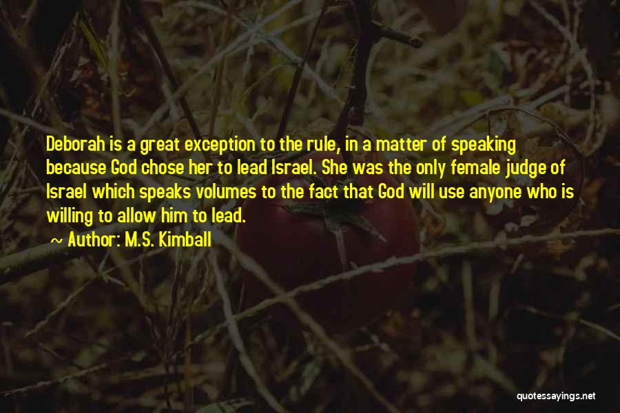 M.S. Kimball Quotes 665916