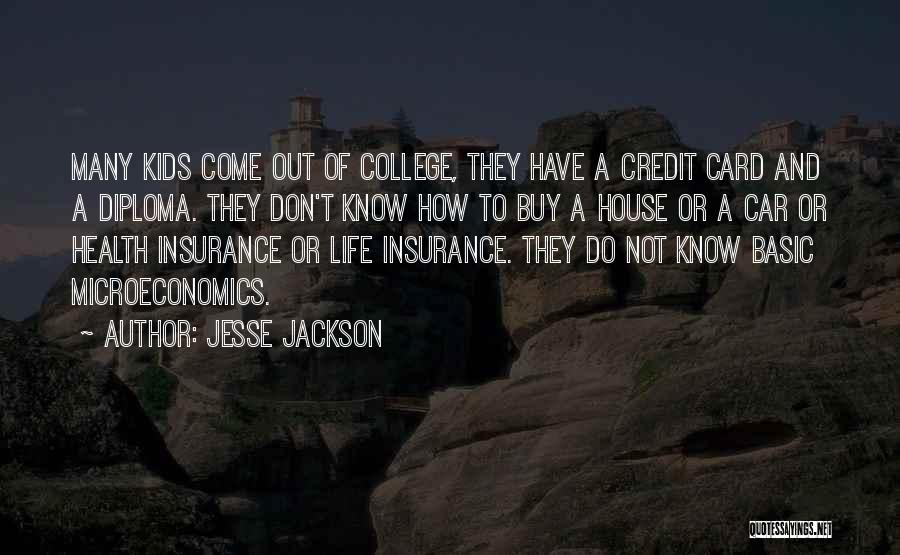 M&s Life Insurance Quotes By Jesse Jackson