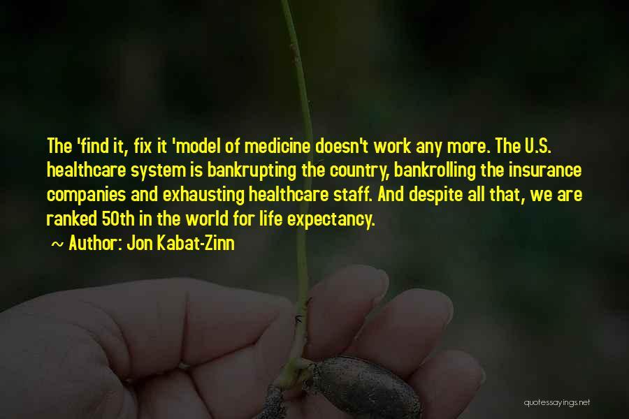 M&s Life Insurance Quotes By Jon Kabat-Zinn