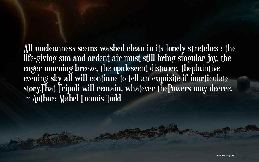 Mabel Loomis Todd Quotes 1306101