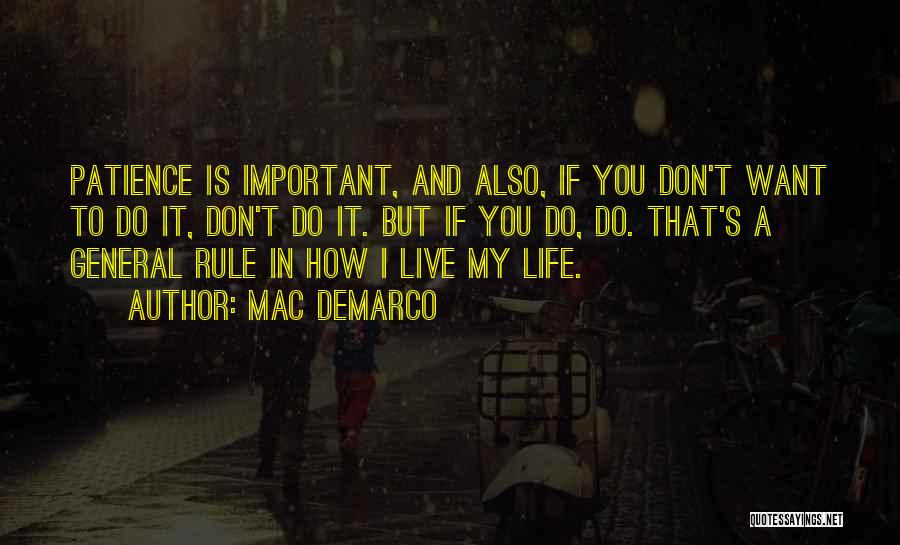 Mac DeMarco Quotes 840562
