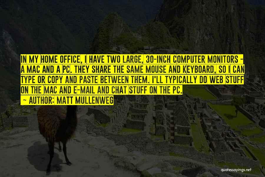 Mac Keyboard Quotes By Matt Mullenweg