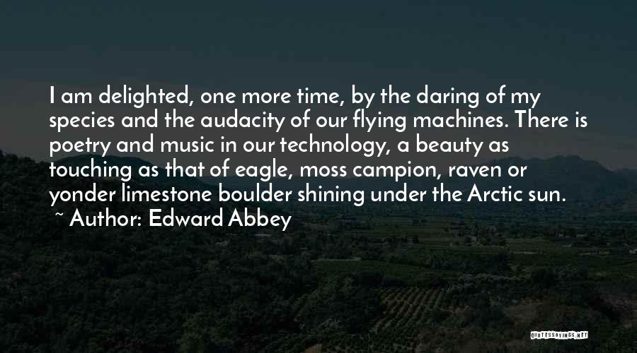 Machines Quotes By Edward Abbey
