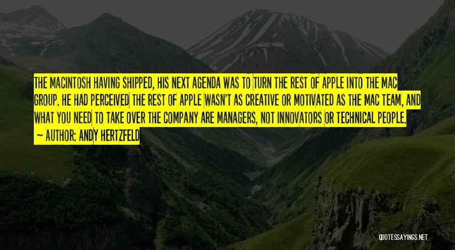 Macintosh Quotes By Andy Hertzfeld
