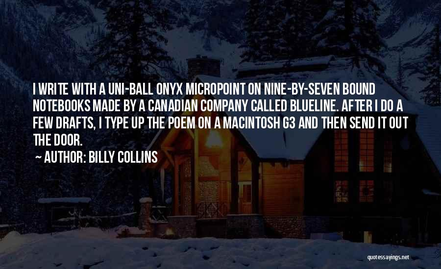Macintosh Quotes By Billy Collins