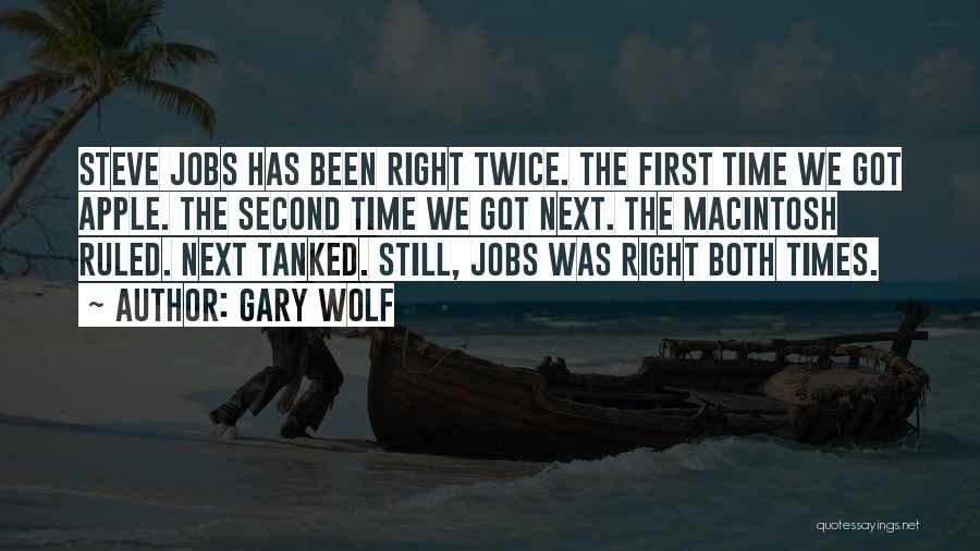 Macintosh Quotes By Gary Wolf