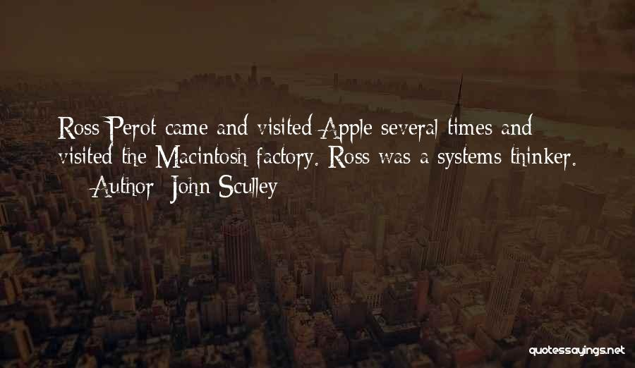 Macintosh Quotes By John Sculley