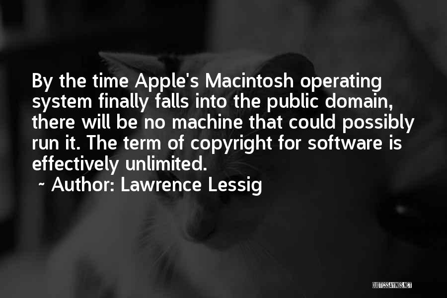 Macintosh Quotes By Lawrence Lessig