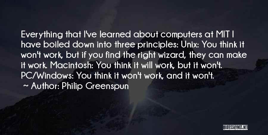 Macintosh Quotes By Philip Greenspun