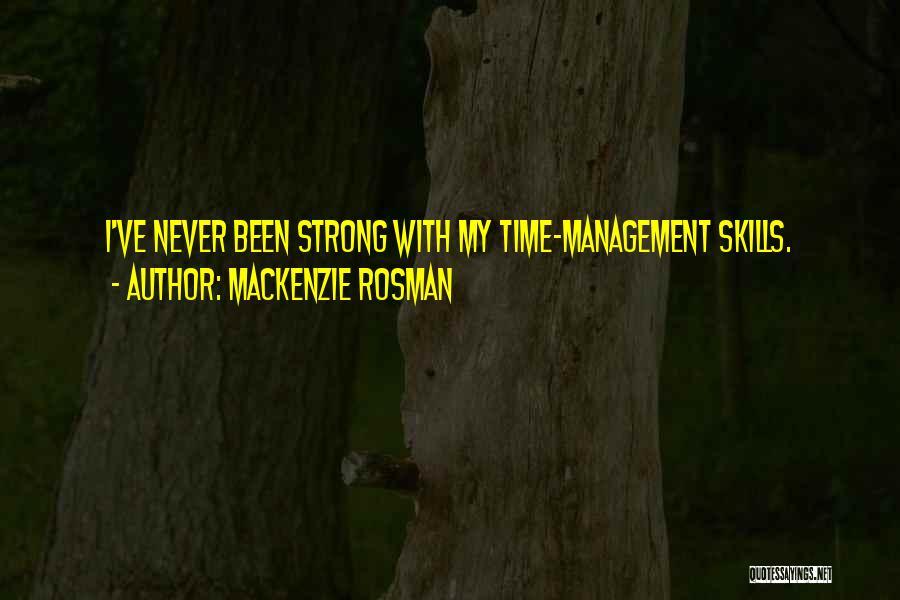 Mackenzie Rosman Quotes 1085859