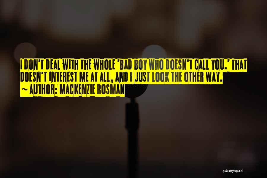 Mackenzie Rosman Quotes 1996325