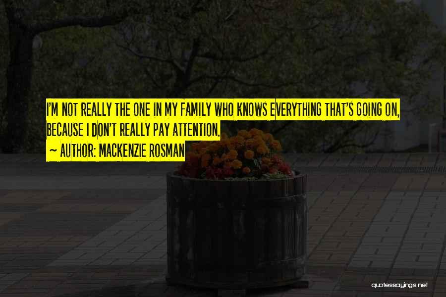 Mackenzie Rosman Quotes 701463