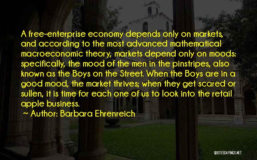Macroeconomic Quotes By Barbara Ehrenreich