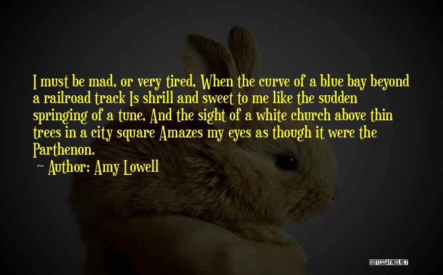 Mad Eye Quotes By Amy Lowell