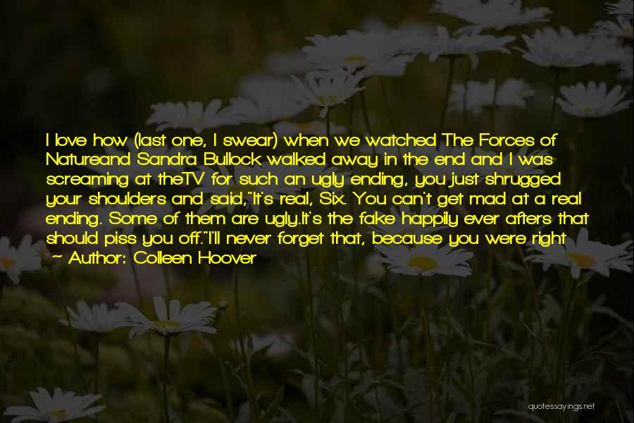 Mad In Your Love Quotes By Colleen Hoover
