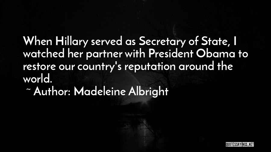 Madeleine Albright Quotes 2164598