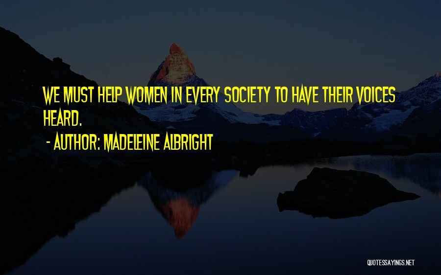 Madeleine Albright Quotes 2237951