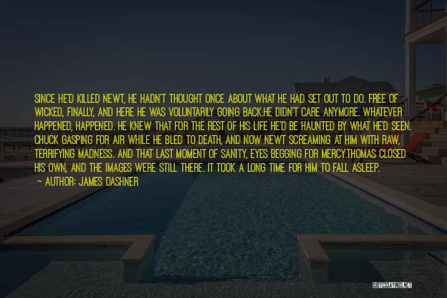 Madness And Sanity Quotes By James Dashner