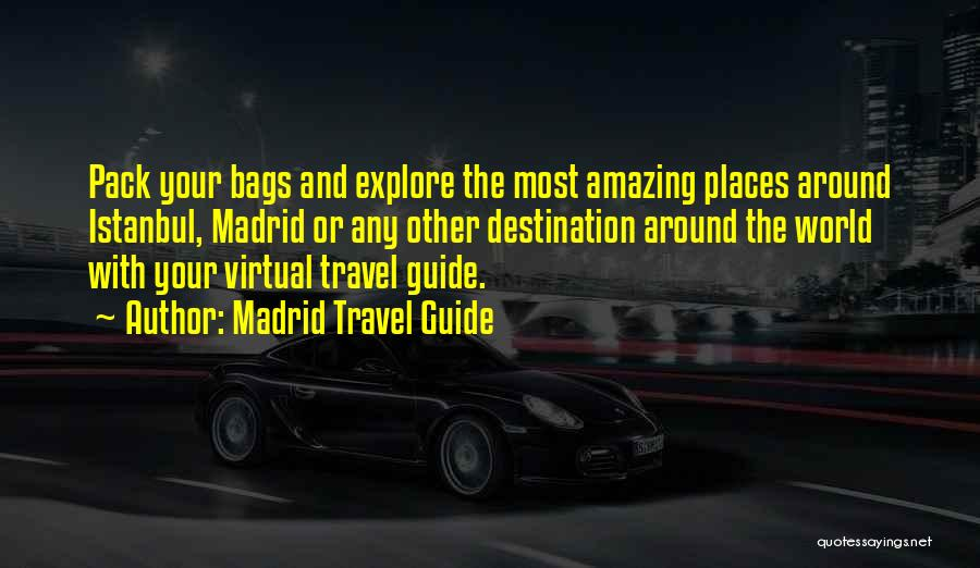 Madrid Travel Guide Quotes 1815432