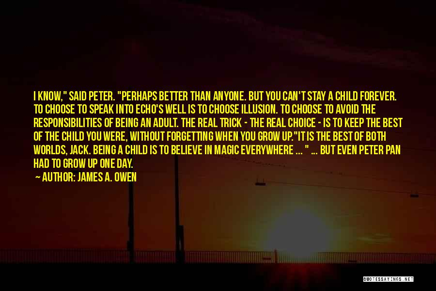 Magic Being Real Quotes By James A. Owen
