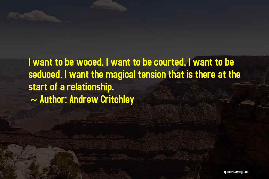Magical Love Quotes By Andrew Critchley