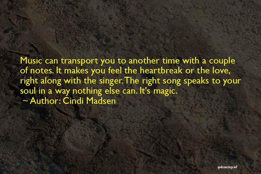 Magical Love Quotes By Cindi Madsen