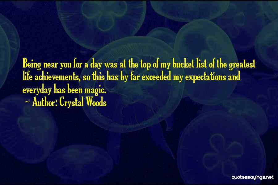Magical Love Quotes By Crystal Woods