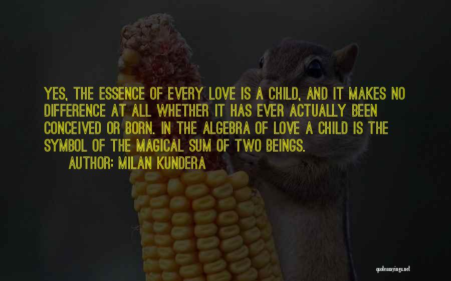 Magical Love Quotes By Milan Kundera