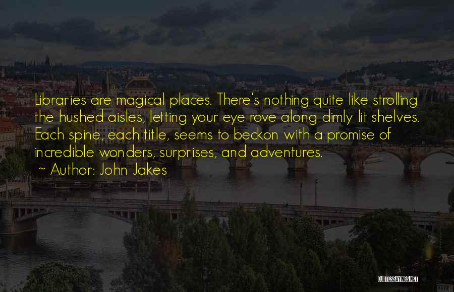 Magical Places Quotes By John Jakes