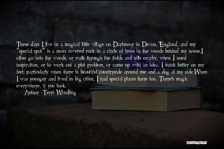 Magical Places Quotes By Terri Windling
